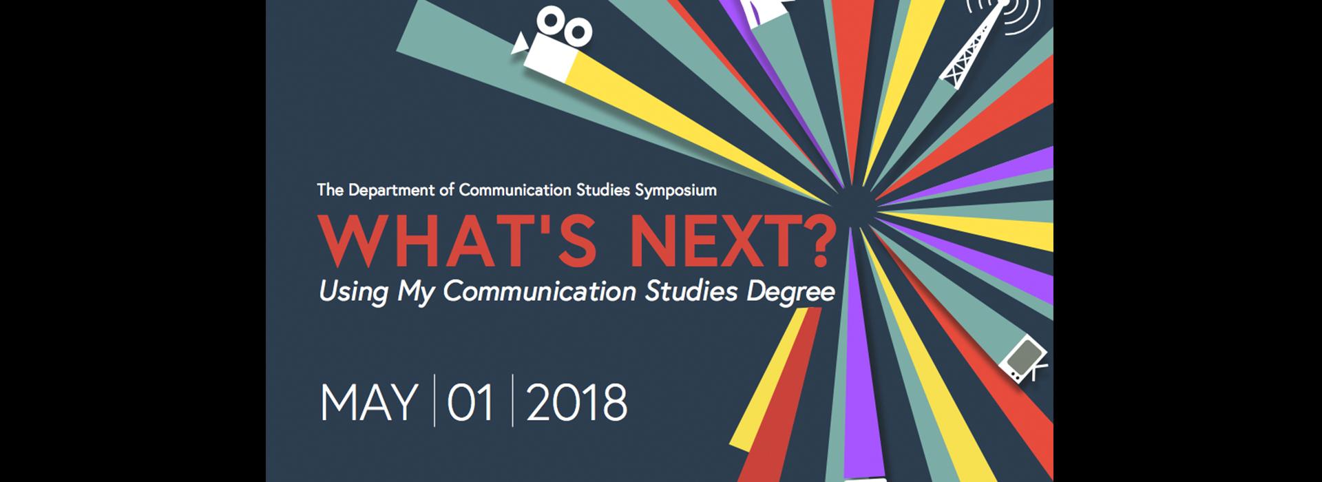 Communication symposium set for May 1