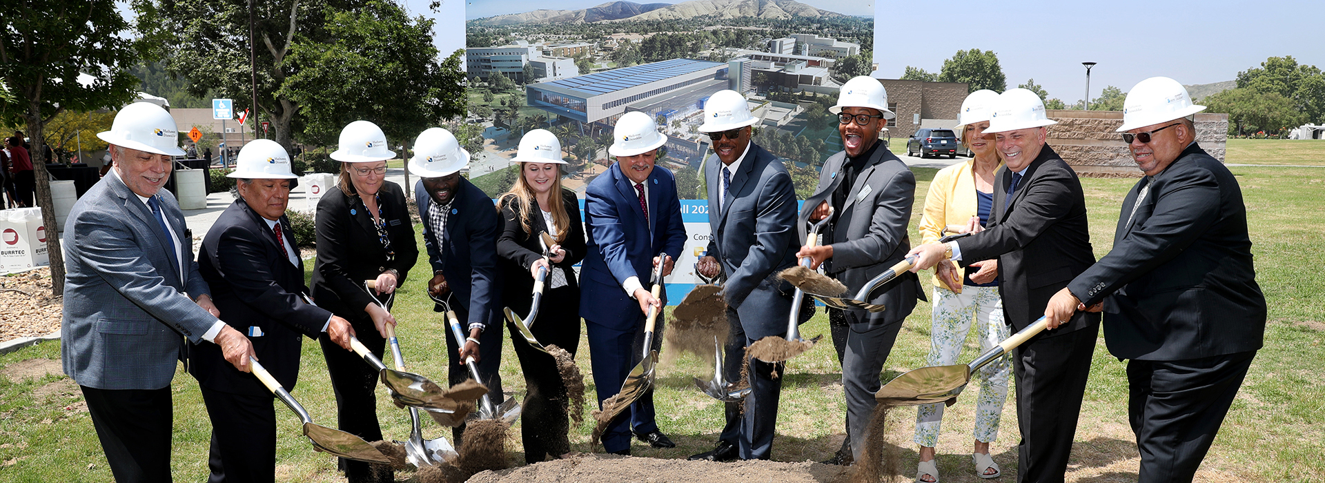 CSUSB formally breaks ground for Santos Manuel Student Union expansion