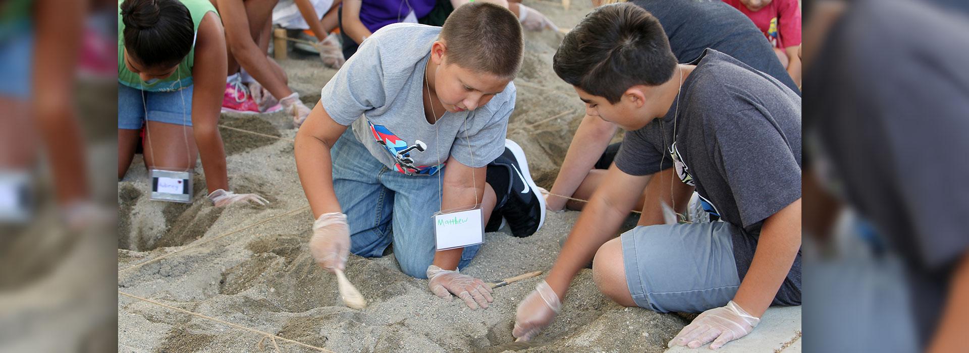 Kids explore ancient Egypt during summer workshop at CSUSB art museum