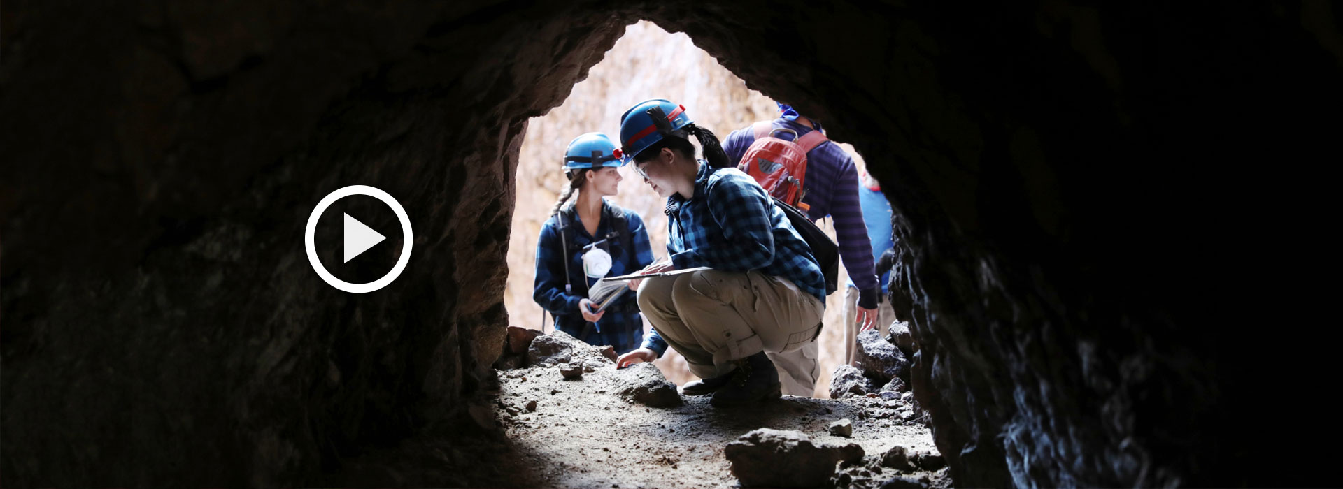 CSUSB geological sciences students explore the different facets of the good Earth