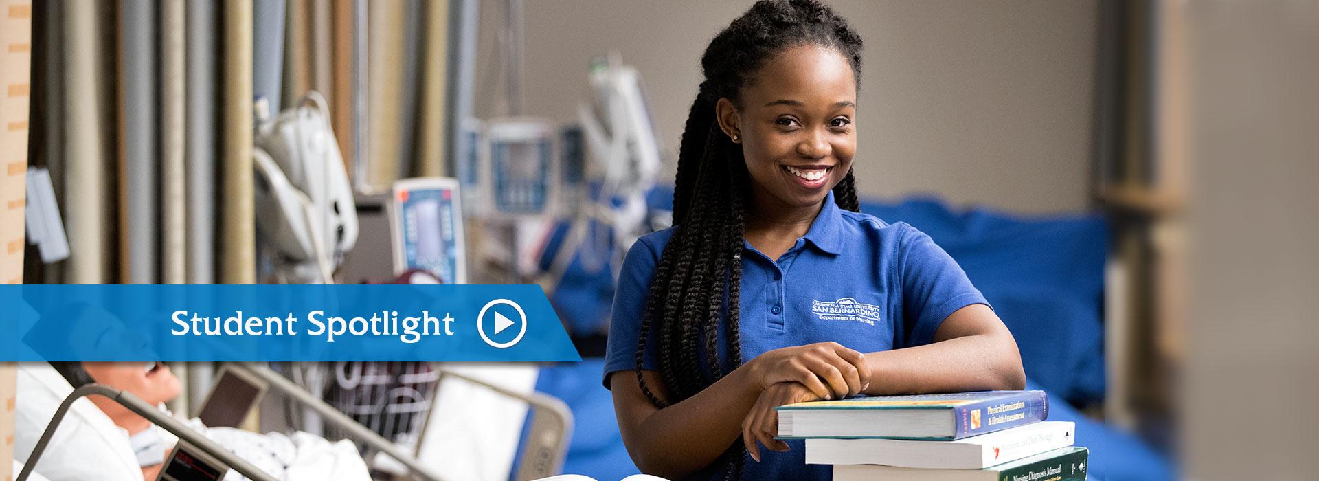 CSUSB nursing student eyes career as nurse practitioner
