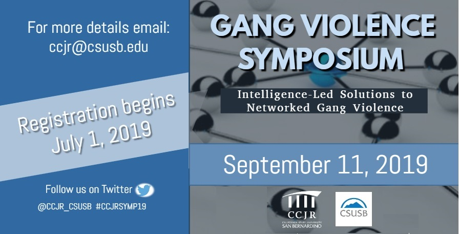 Gang violence focus of criminal justice symposium at CSUSB on Sept 11
